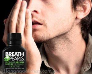 Hơi thở có mùi nặng - Nàng ngại yêu !
