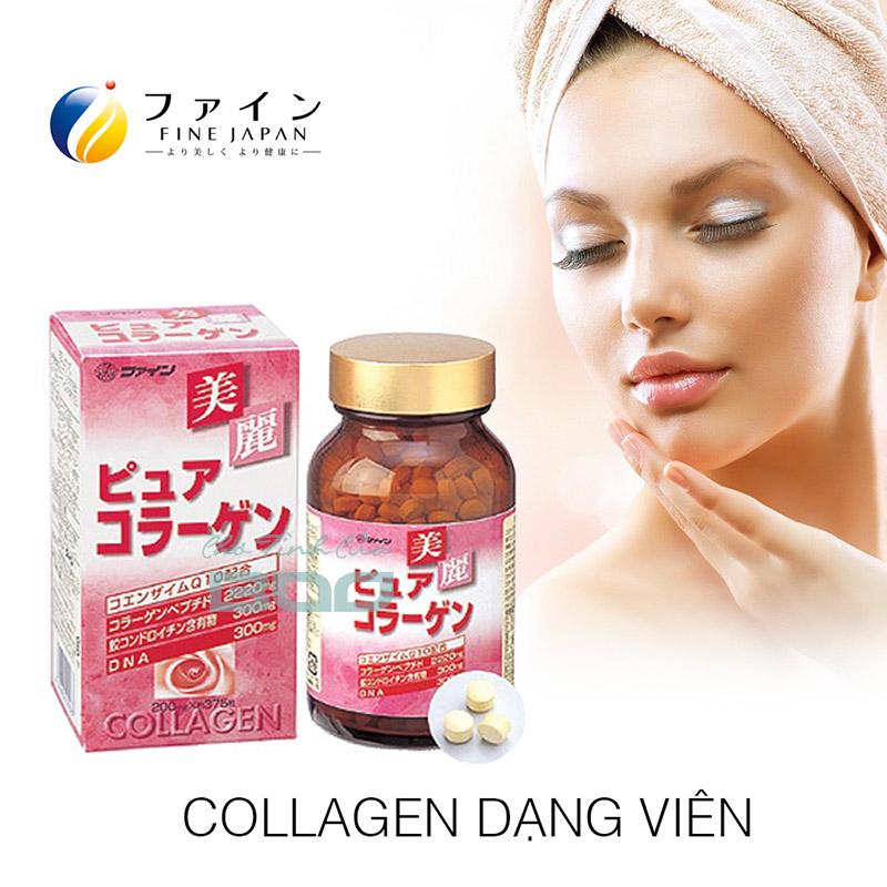 Collagen dang vien Fine Pure