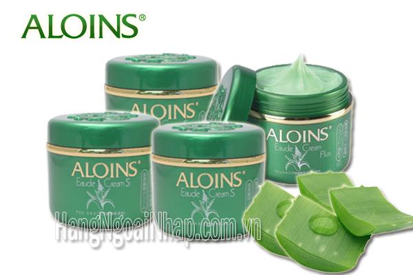 kem dưỡng ẩm Aloins của nhật