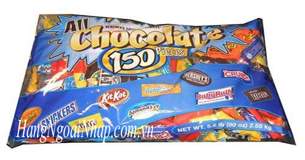 Keo-Socola-tong-hop-All-Chocolate-150-Pieces-2.55kg-cua-My-3