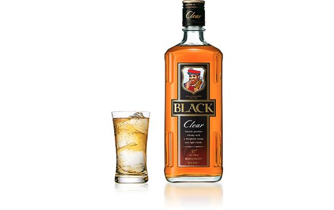 Rượu Whisky Black Clear