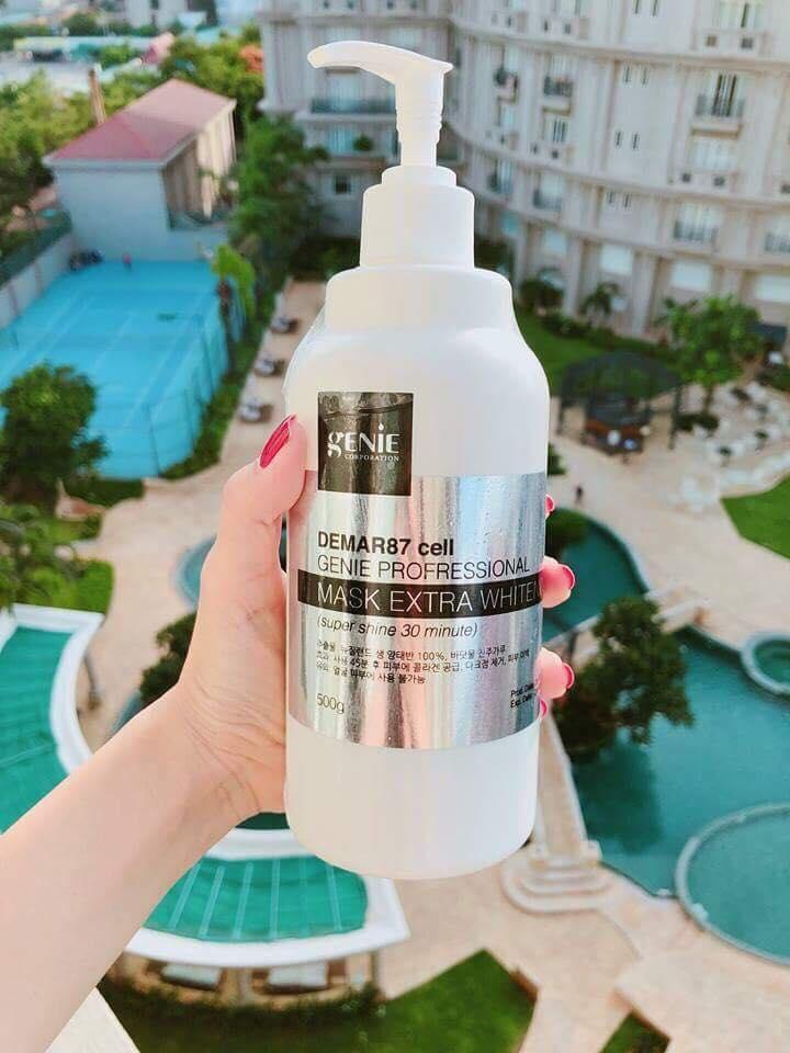 Đánh giá về Kem body genie ủ trắng da Hàn Quốc