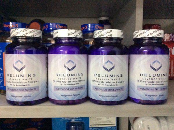 Viên thuốc trắng da Relumins của Mỹ giá bao nhiêu? Mua ở đâu?