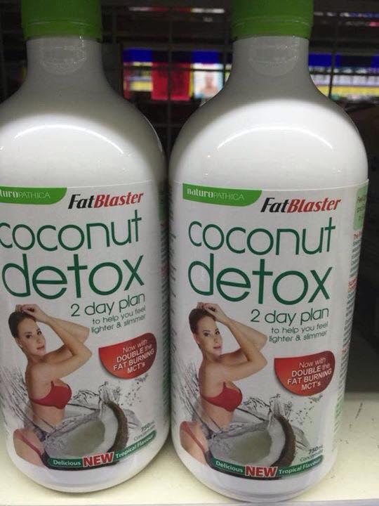 Coconut detox cách dùng hiệu quả cho người muốn giảm cân