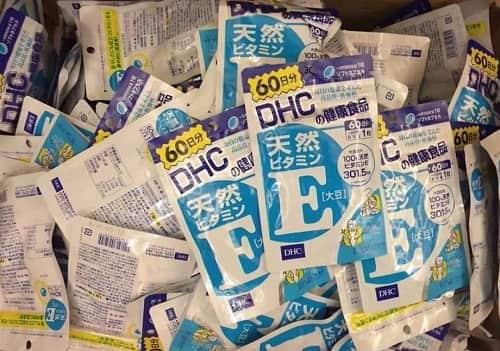 Viên uống vitamin E DHC 60 ngày giá bao nhiêu-2