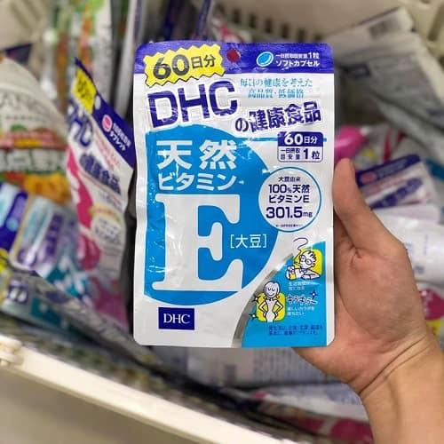 Viên uống vitamin E DHC 60 ngày giá bao nhiêu-3